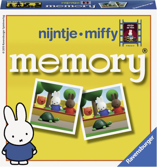 Ravensburger Nijntje De Film Mini Memory - Kinderspel