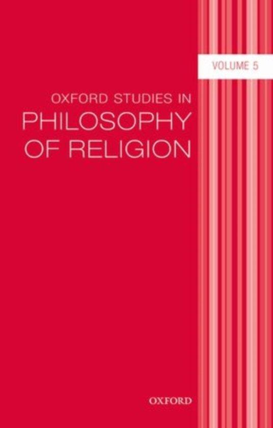 Oxford Studies in Philosophy of Religion