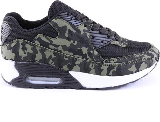 f3a29601d3e bol.com | Heren/Dames Camouflage sneakers Running Schoenen