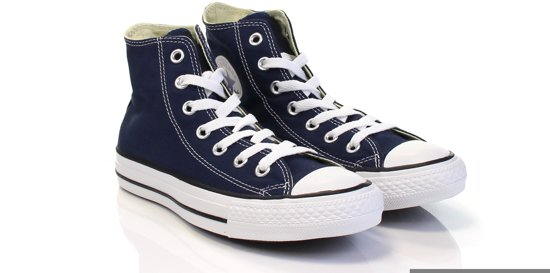 fe2c92b9982 Converse Chuck Taylor All Star Sneakers Hoog Unisex - Navy - Maat 41.5