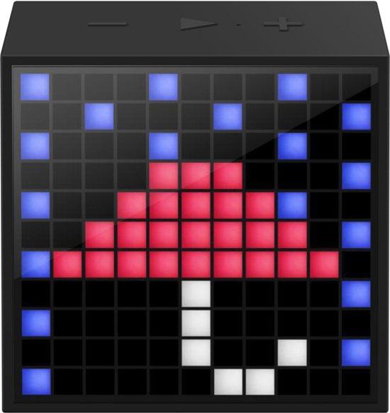 Divoom TimeBox Mini Smart Bluetooth Speaker met Alarm 9 x 9 cm