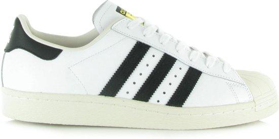 Baskets Adidas Superstar 80 Blanc Taille 46 wShcw6RN3U