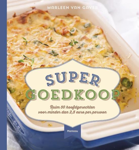 Boek cover Super goedkoop van Marleen Van Gaver (Hardcover)