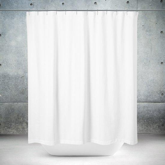 Roomture - douchegordijn - Classical Bright White - 180 x 200
