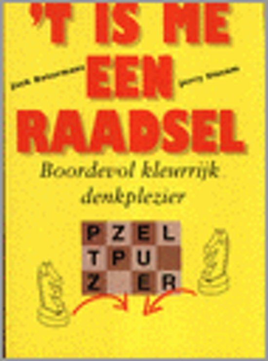 'T Is Me Een Raadsel - Jack Botermans pdf epub
