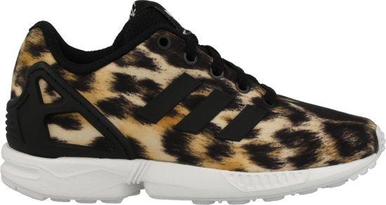 d5bf2f1f18f bol.com | adidas ZX FLUX K B25642 Zwart;Wit maat 35