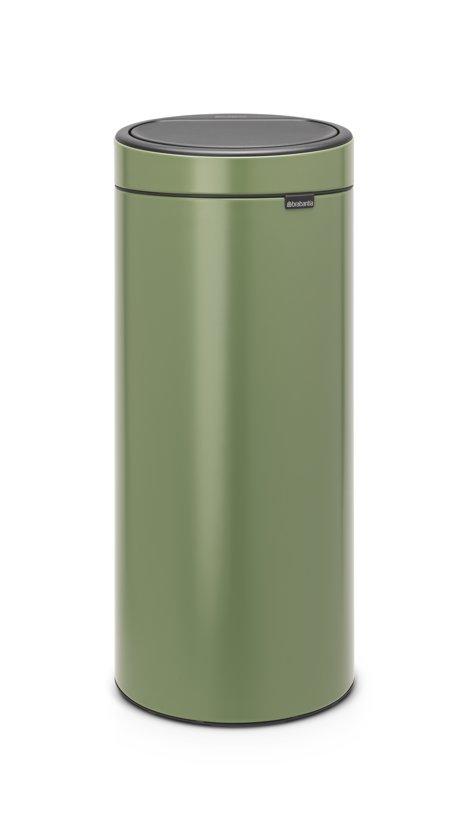 Brabantia Prullenbak Goedkoop.Brabantia Touch Bin New Prullenbak 30 L Moss Green