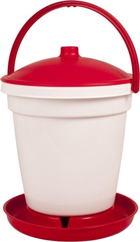 18 liter Drinkemmer Rood