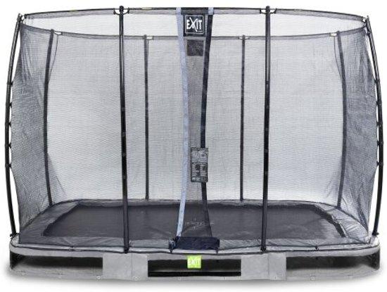 EXIT Elegant Premium Inground Trampoline 214 x 366 cm met Veiligheidsnet
