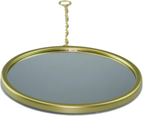 Spiegel Rond Zwart : Spiegels zwart van glas prijsbest