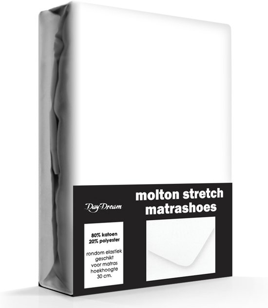 Molton Stretch Hoeslaken Day Dream-80/90 x 210/220 cm