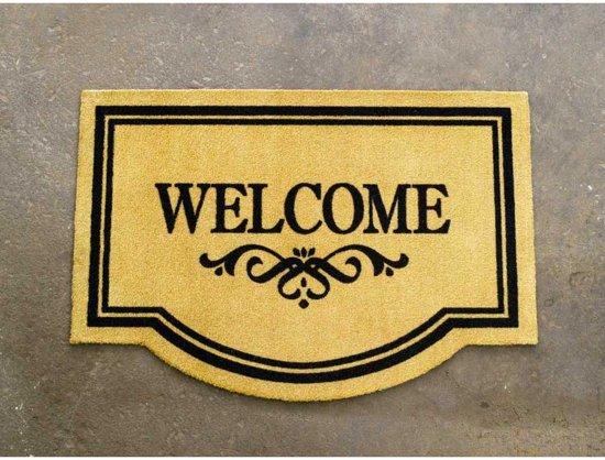 Deurmat Welcome Wasbaar 30°C 45x65 cm
