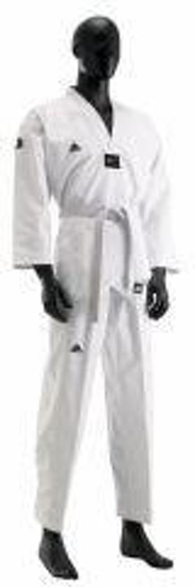 Adidas Taekwondopak Champion II Witte Revers-200