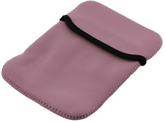 7 inch iPad neoprene sleeve hoes - Paars
