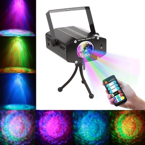 DJ Led laser lamp disco party water effect 10W