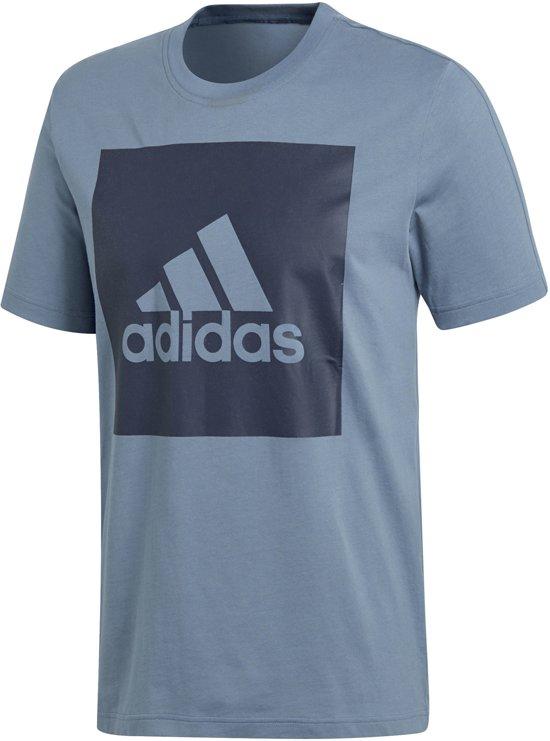 adidas shirt zwart heren