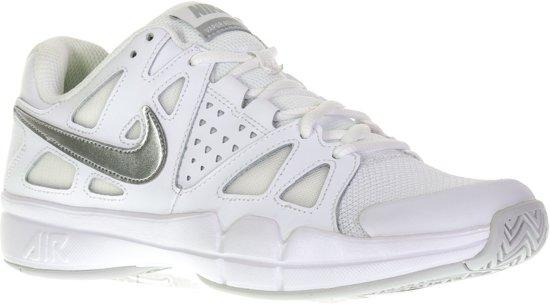 ea21fb6ee91 Nike Air Vapor Advantage Tennisschoenen - Maat 40.5 - Vrouwen - wit/zilver