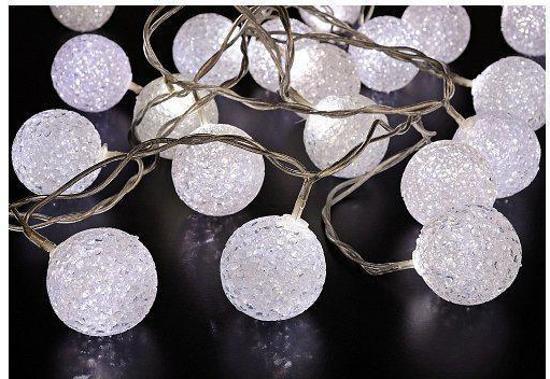bol.com | Sneeuwbal verlichting 20 led lampjes