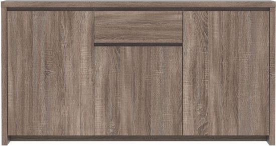 True Furniture Seven - Dressoir - Hoog - Truffel eiken