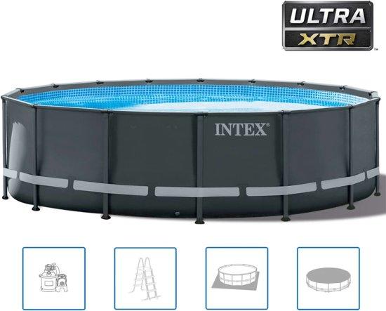 Intex Ultra XTR Frame zwembadset rond 488x122 cm 26326GN