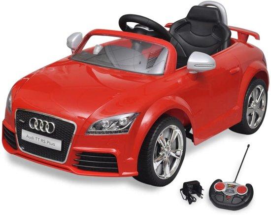 Bol Com Elektrische Auto Audi Tt Rs Met Afstandsbediening Rood