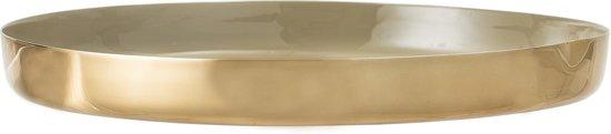 Bloomingville - Schaal - Aluminium - Goud/Bruin - 40xH4 cm