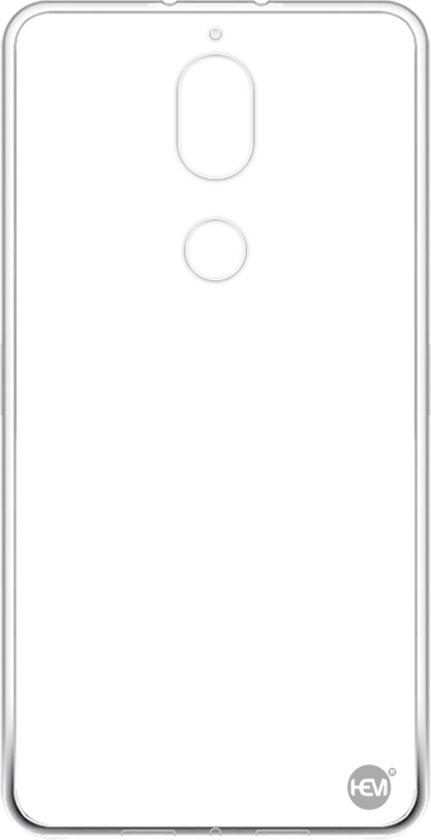 Nokia 7 Plus Transparant Siliconen Gel TPU / Back Cover / Hoesje