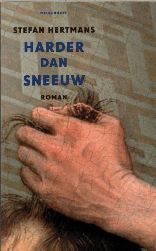 Cover van het boek 'Harder dan sneeuw' van Stefan Hertmans