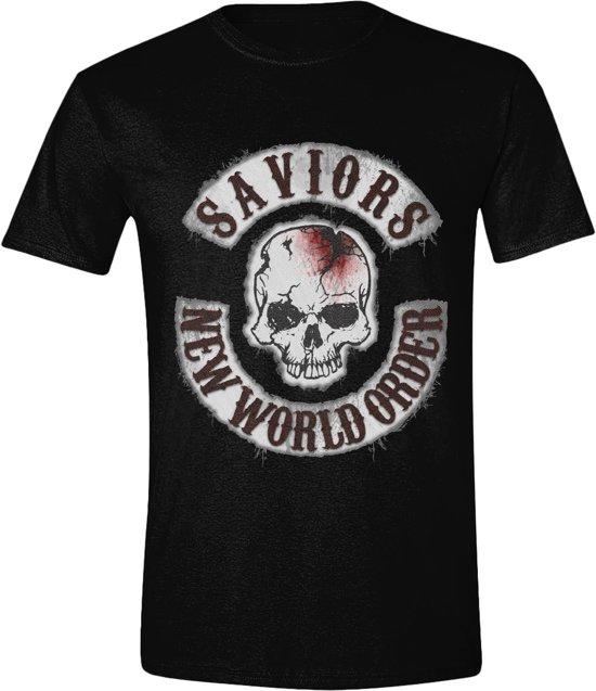 The Walking Dead - Saviors T-Shirt - Zwart - S