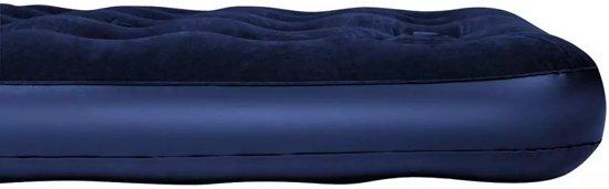 Bestway opblaasbaar luchtbed met ingebouwde voetpomp 188 x 99 x 28 cm