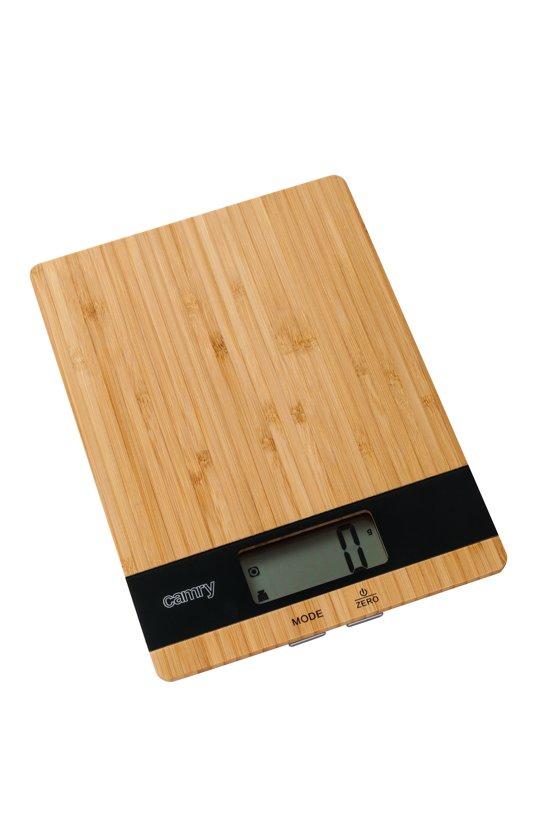 Camry CR 3154 Keukenweegschaal houtkleurig