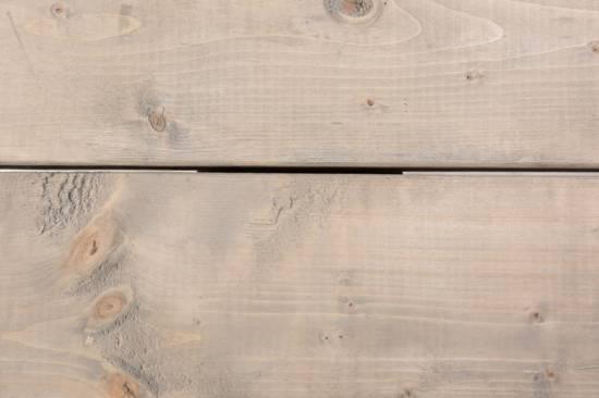 Duverger Industry - Zitbank - naturel houten planken - smeedijzer