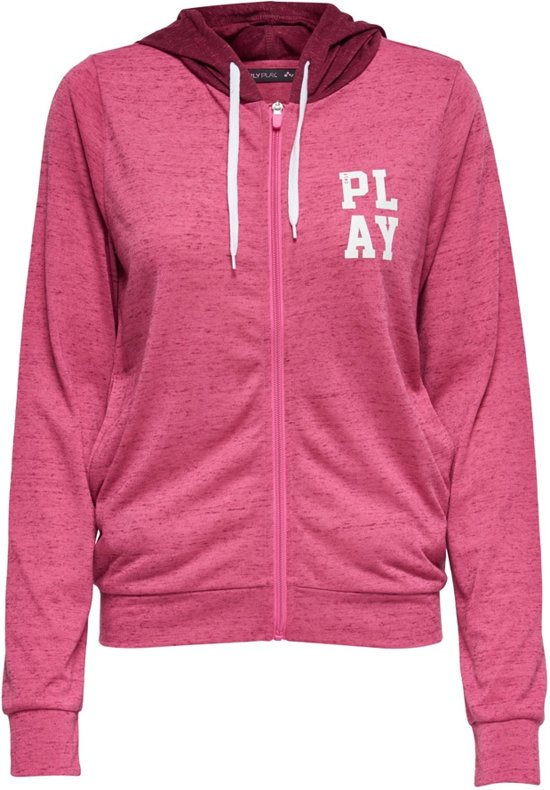 8a156196a3c bol.com   Only Play Halle Hooded Sweater - Sweaters - roze - XS