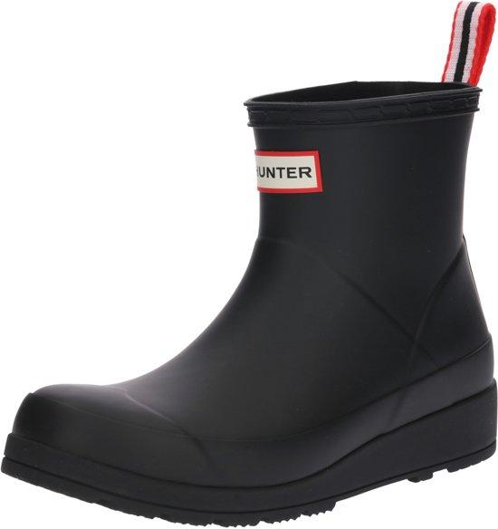 | Hunter Dames Regenlaarzen Play Boot Short Zwart
