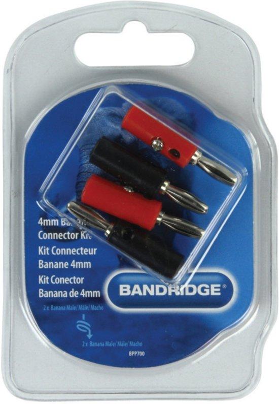 Bandridge Banaanstekkers (4 stuks)