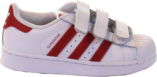 Adidas Jongens Sneakers Superstar Cf C - Wit - Maat 35