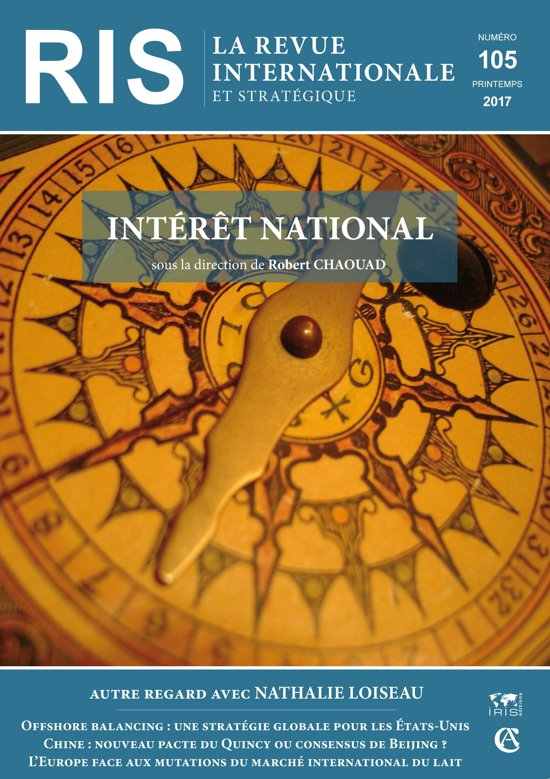 Boek cover Intérêt national van Robert Chaouad (Onbekend)