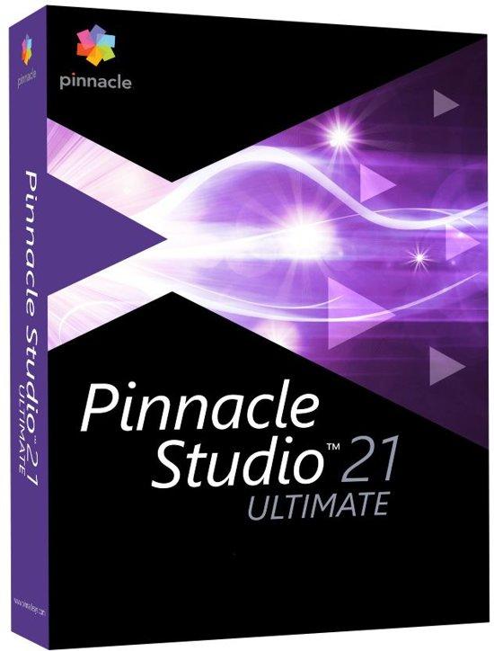 Pinnacle Studio 21 Ultimate - Nederlands / Engels / Frans - Windows