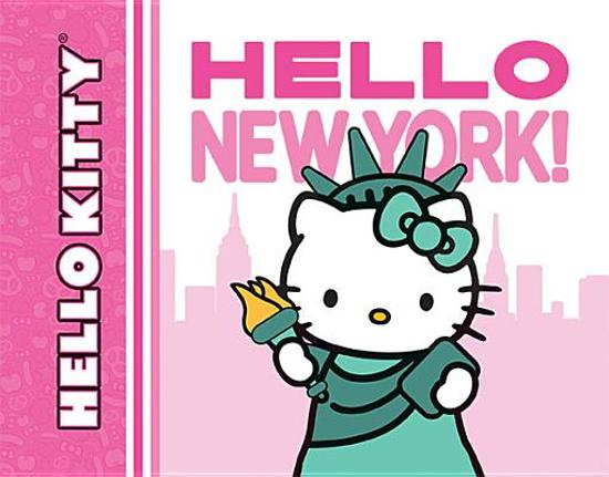 Boek cover Hello Kitty, Hello New York! van Ltd Sanrio Company (Onbekend)