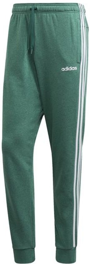 Adidas Adidas Essentials 3-Stripes Tapered Cuffed Trainingsbroek Groen Heren