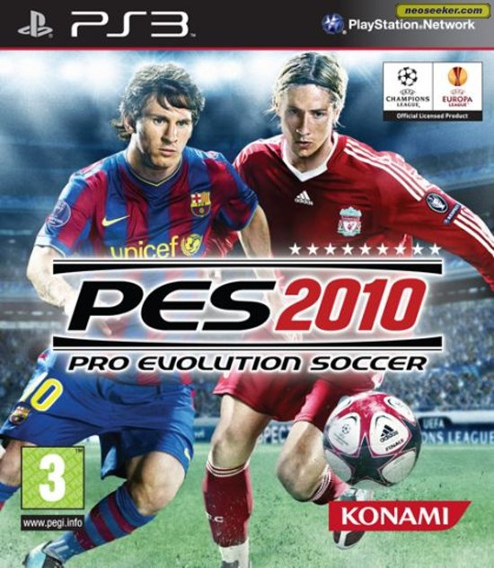 Konami Pro Evolution Soccer 2010 (PS3)