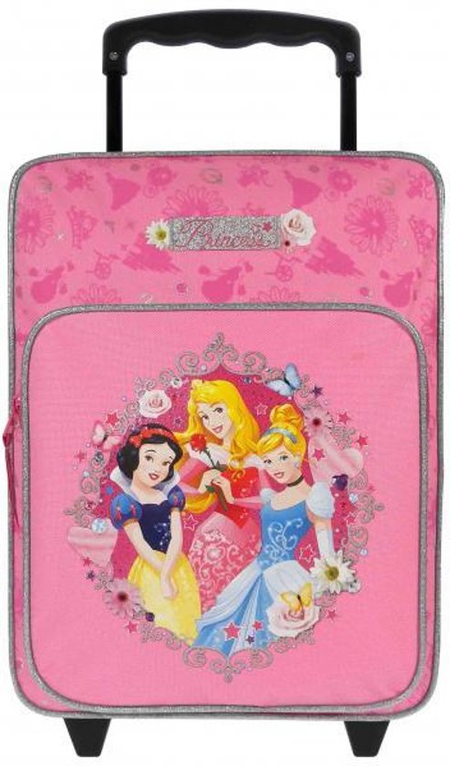 Disney Princess Trust Your Heart - Rugzaktrolley - Kinderen - Roze