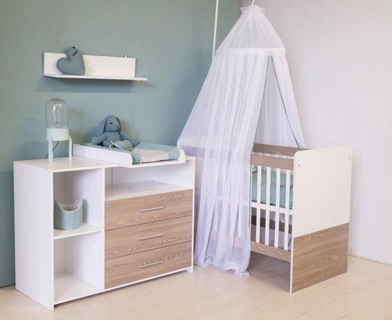 Babykamer Van Hout.Bol Com Bebies First Babykamer Lars 2 Delige Ledikant