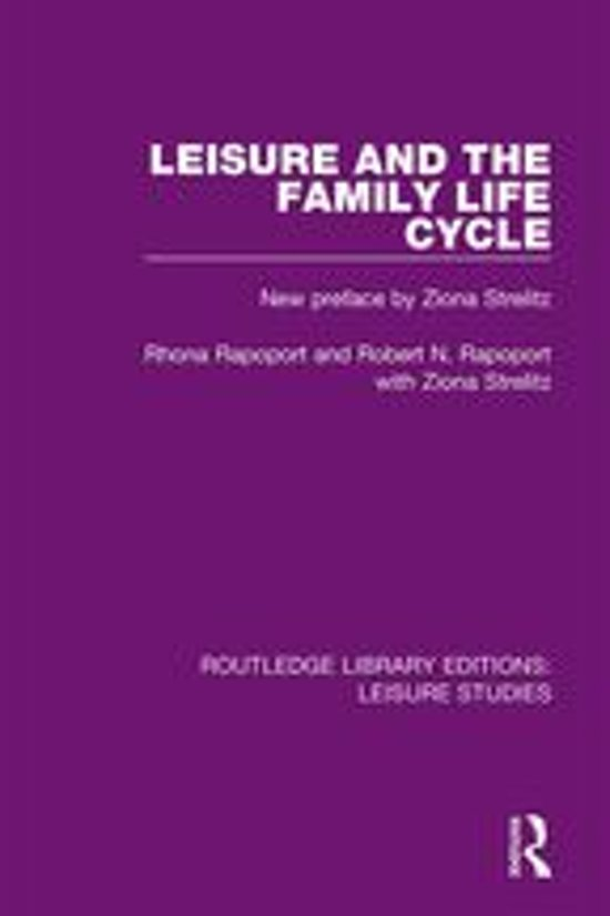 Leisure and the Family Life Cycle