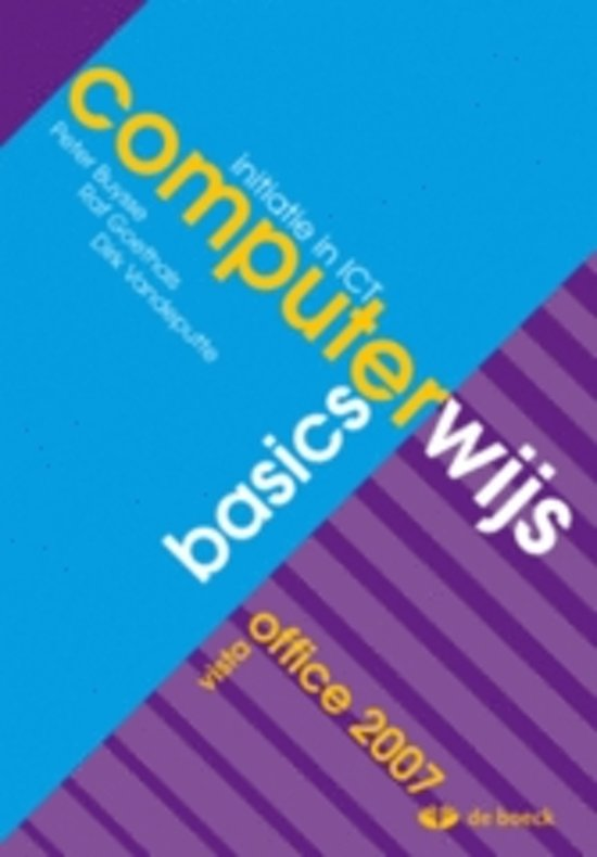 Computerwijs basics vista leerwerkboek cd rom