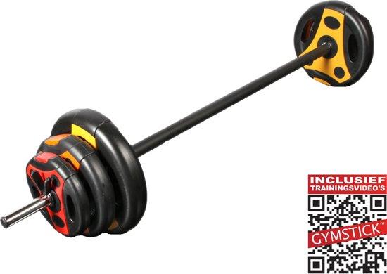 Gymstick - Halterset/Pumpset - 20 kg - Inclusief Trainingsvideo's- Multi