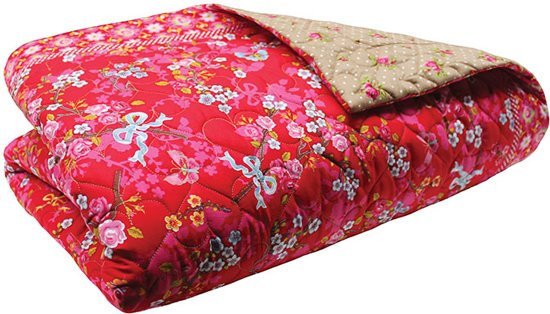 Bol pip studio chinese blossom quilt rood