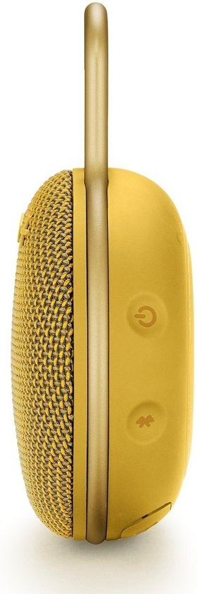 JBL Clip 3 Mustard Yellow Bluetooth speaker