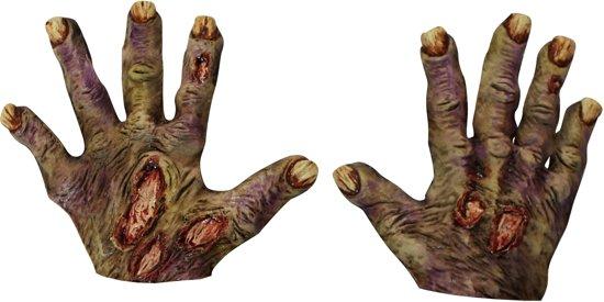 Enge zombie handschoenen voor volwassenen  - Verkleedattribuut - One size