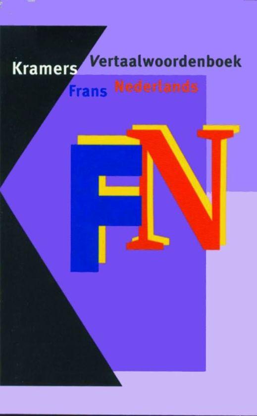Kramers vertaalwoordenboek frans-nederlands - Onbekend |